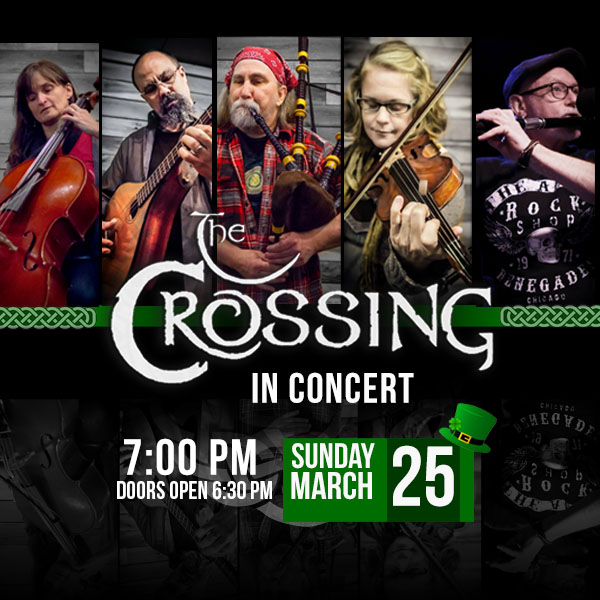 The Crossing in concert at the Wilson Abbey