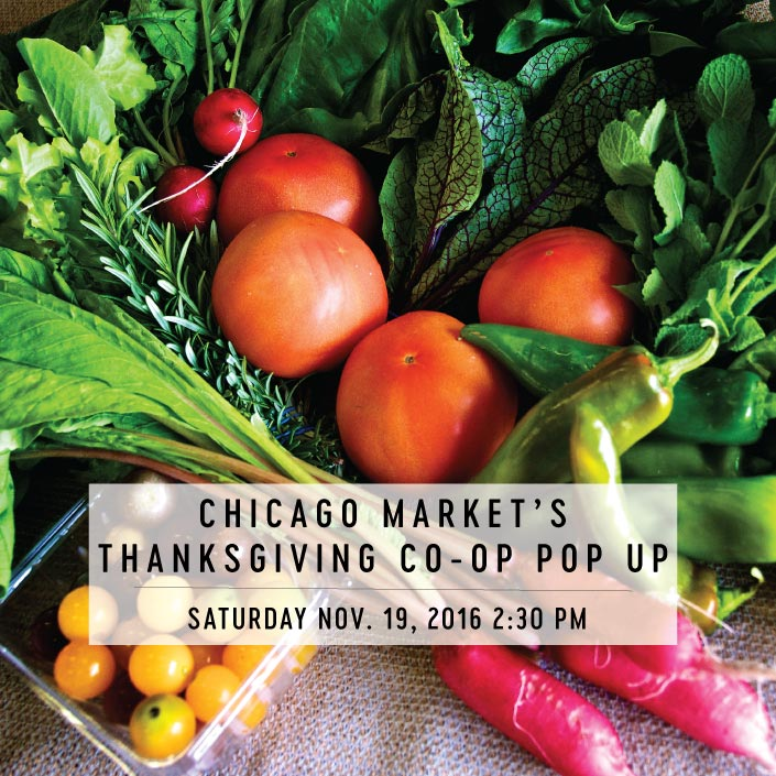 Chicago Market's Thanksgiving Co-op Popup