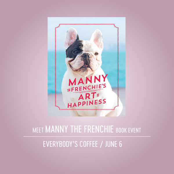 Manny the Frenchie Book Event