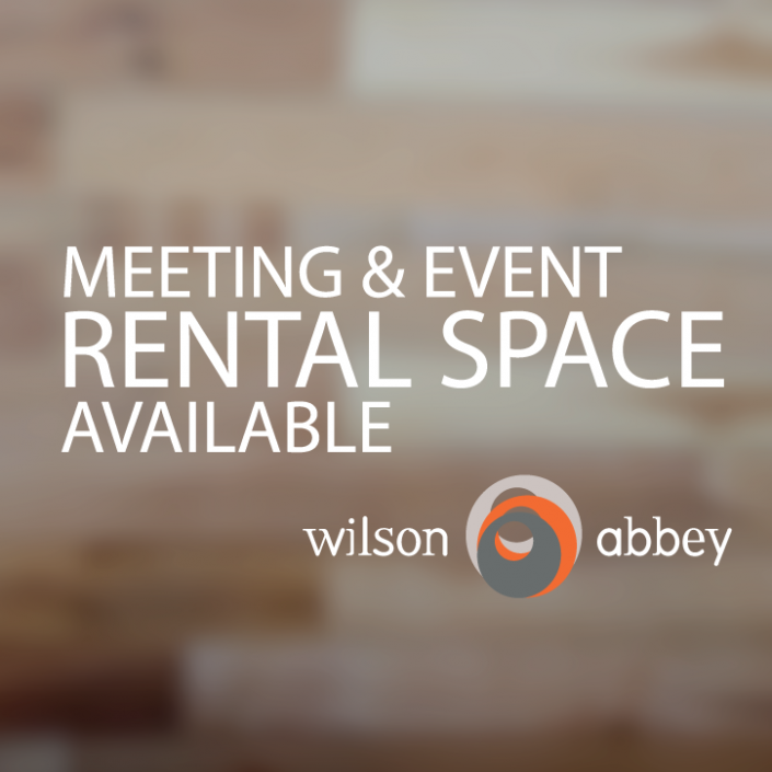 Meeting and Event Rental Space Available at Wilson Abbey