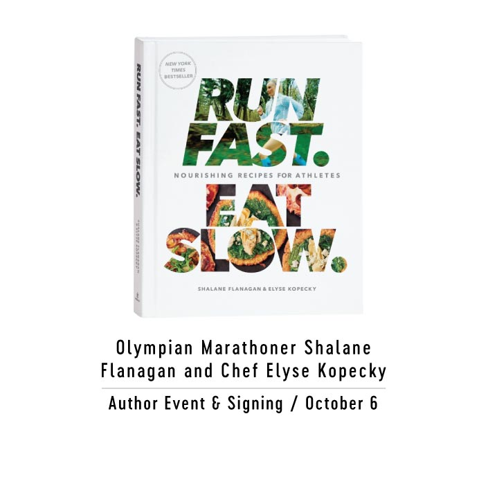 Run Fast Eat Slow Author Event