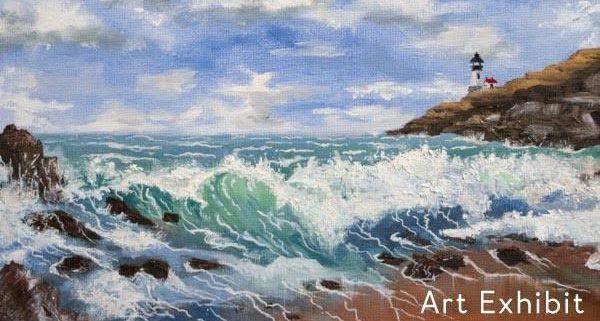 Paintings by Joe Andrews