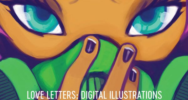 Love Letters Digital Illustration Art Show at Everybodys Coffee