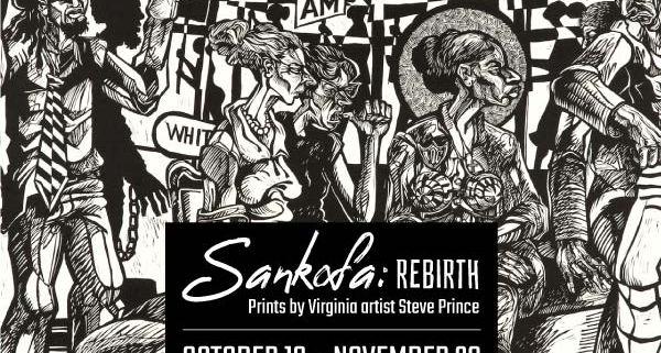 Sankofa: Rebirth. Prints by Steve Prince