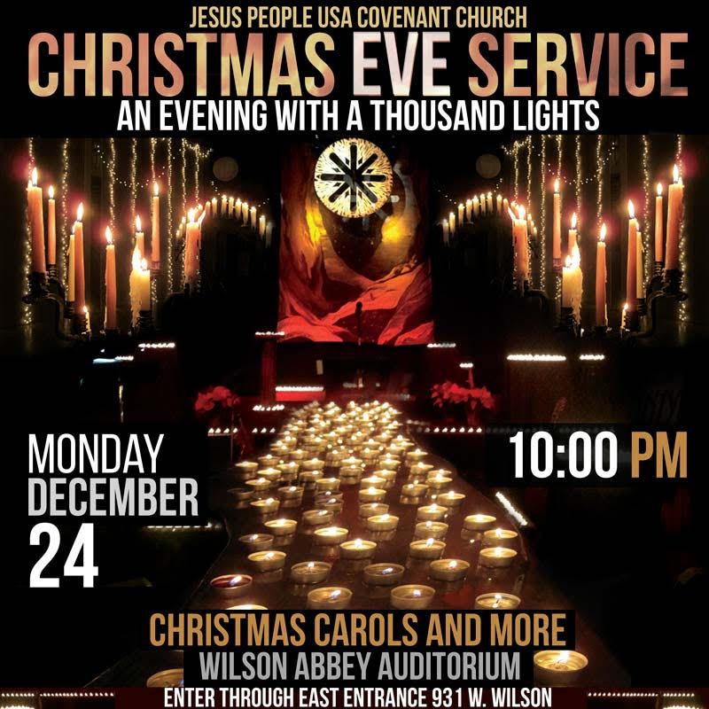 JPUSA Christmas Eve Service