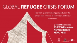 Uptown Church Global Refugee Crisis Forum