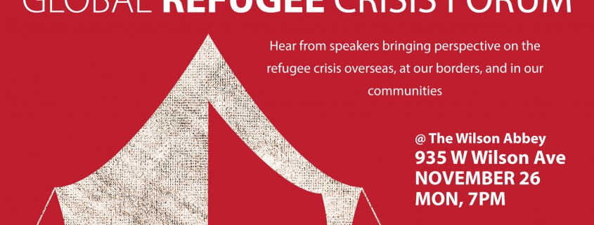 Uptown Church Global Refugee Crisis Forum